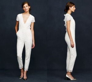 Bridal Jumpsuit JCrew