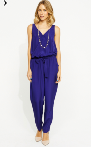 Louise Cross Front Jumpsuit