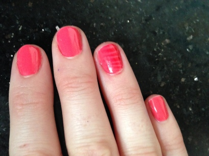 Shiny Glossy Gel Polish Nails!