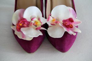RisaRuthDesigns Blooming Orgid Shoe Clips