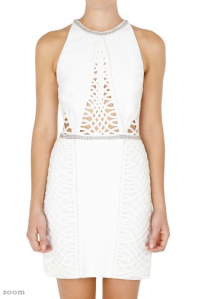 sass and bide - TOO MUCH INFORMATION WHITE