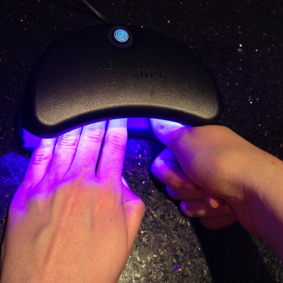 UV light Gel Nail setting