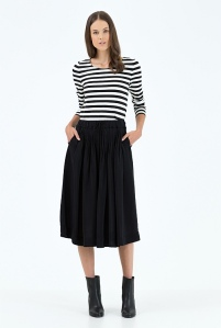 Country Road Crepe Pintuck Midi Skirt Sublime Finds