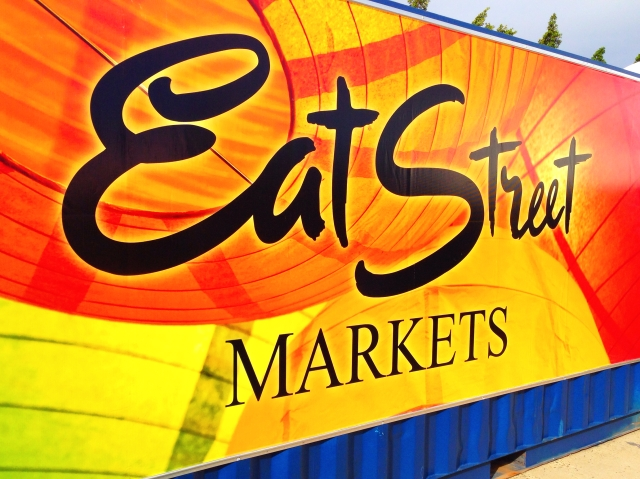 Eat Street Markets Sign