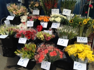 Fresh Flower Stand Eat Street Markets