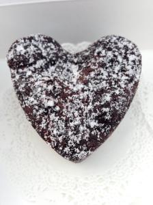 I heart brownies love heart brownie