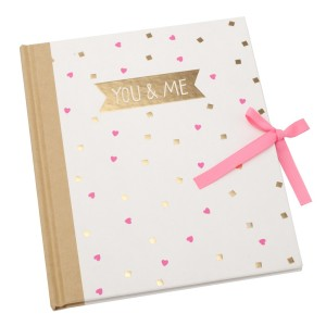 Memory Book with Case You and Me Kikki K Valentines Day