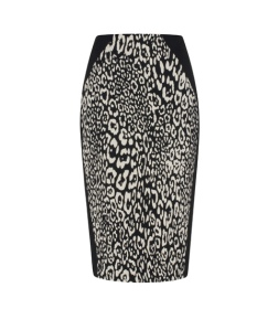Animal Jacquard Pencil Skirt by Cue - Sublime Finds