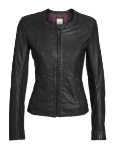 Esprit Leather Biker Jacket