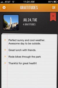 Gratitude 365 App 1