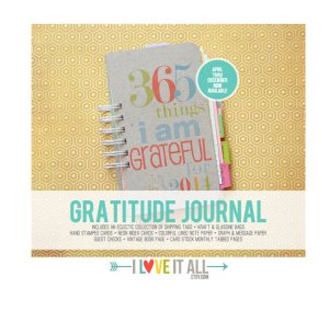 Gratitude Journal - Things I am Grateful Iloveitall