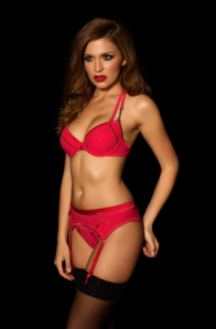 Lady Rider Red Suspender Set Honey Birdette - Sublime Finds