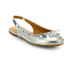 Marc by Marc Jacobs Mouse Studded Slingback
