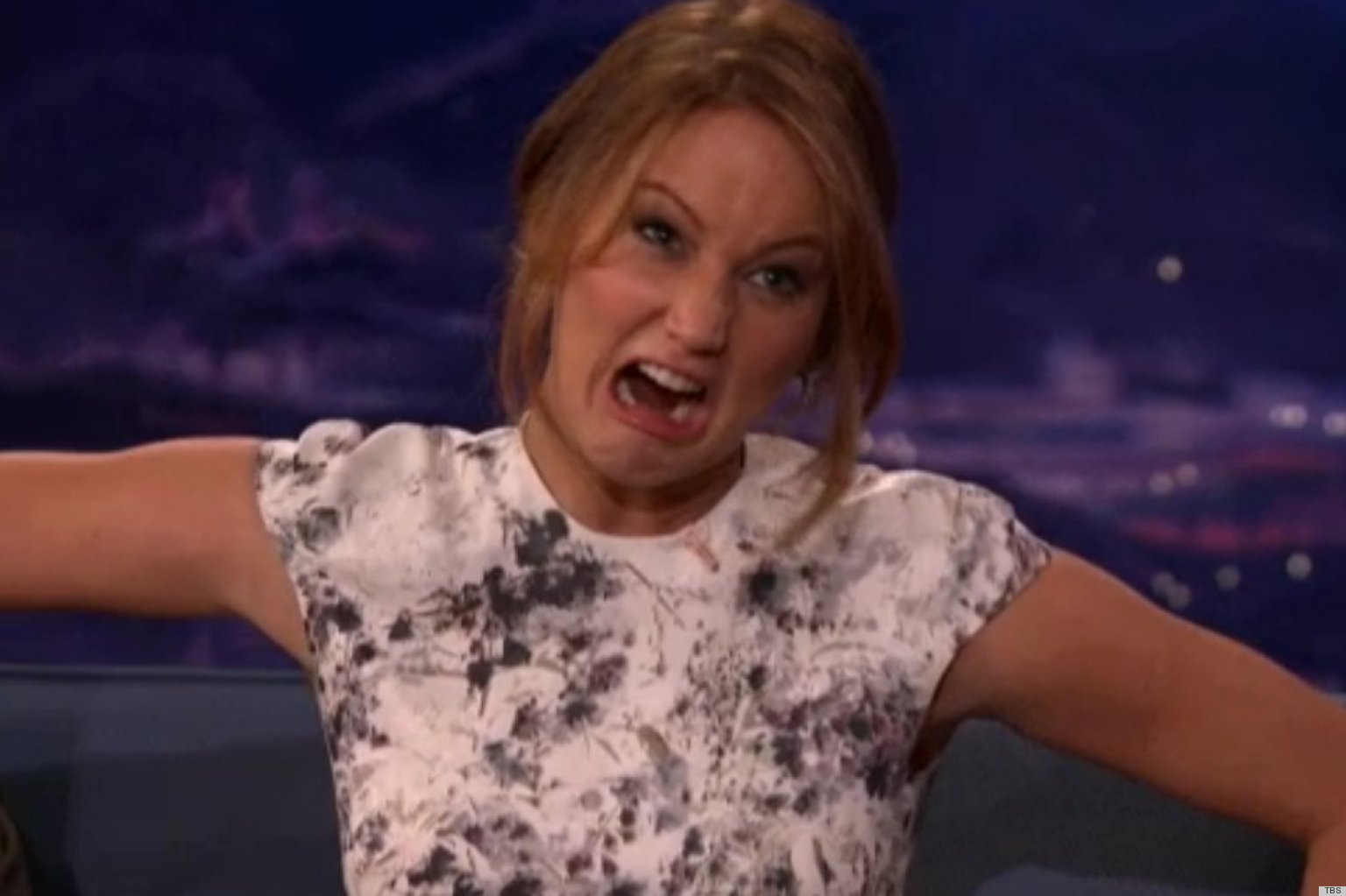J-Law in all her glory! - Sublime Finds Jennifer Lawrence Funny Face