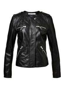 Seed Heritage Biker Leather Jacket