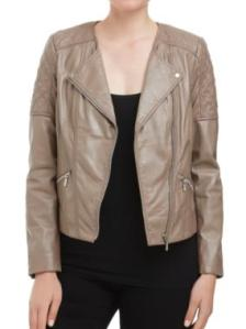 Sussan Quilted Leather Jacket