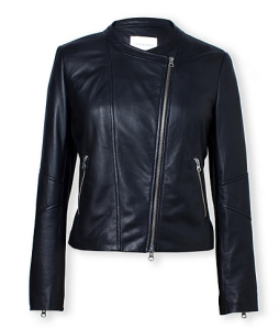 Trenery Leather Soft Biker Jacket