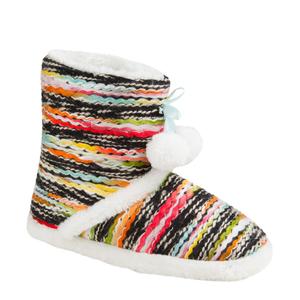BigW Allsorts Slipper Boots Multicolour