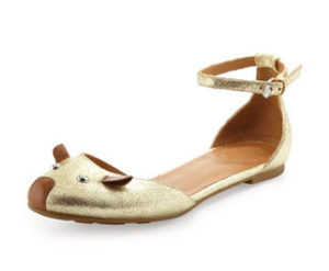 Marc by Marc Jacobs d'Orsay Mouse Flats