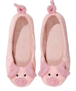 Peter Alexander Ladies Pig Couture Slipper