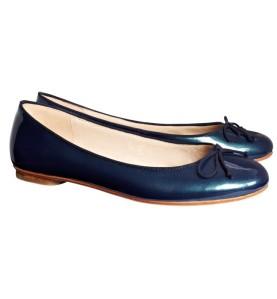 Sambag Tina Navy Plain Ballet Flats
