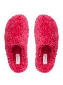Sussan Fluffy Clog Slippers