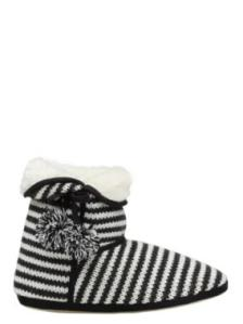 Sussan Stripe Fur Lined Boot