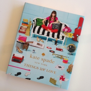 kate spade Things We Love book