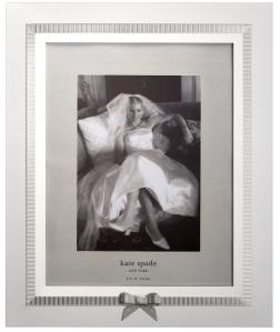 The lovely Grace Avenue 8x10 inch photo frame, $75 on katespade.com $149 from David Jones